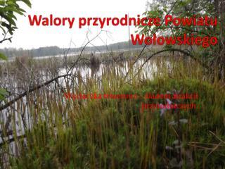 Walory przyrodnicze Powiatu Wo?owskiego