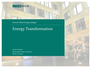 Energy Transformation