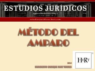 MÉTODO DEL AMPARO