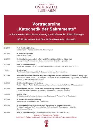 09.04.14 Prof. Dr. Albert  Biesinger Hinführungen - Theorieprobleme und Praxisbeispiele