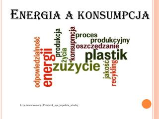 Energia a konsumpcja