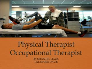 Physical Therapist Occupational Therapist