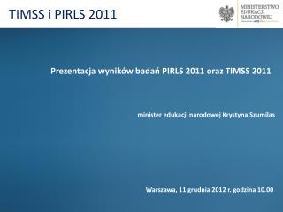 TIMSS i PIRLS 2011