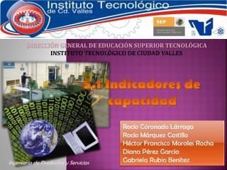 DIRECCIÓN GENERAL DE EDUCACIÓN SUPERIOR TECNOLÓGICA INSTITUTO TECNOLÓGICO DE CIUDAD VALLES