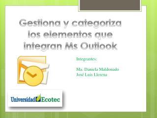 Integrantes: Ma. Daniela Maldonado  José Luis Llerena