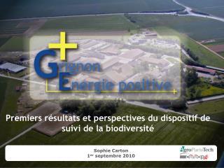 Premiers résultats et perspectives du dispositif de suivi de la biodiversité
