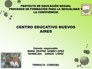 CENTRO EDUCATIVO NUEVOS AIRES