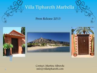 Villa  Tiphareth  Marbella