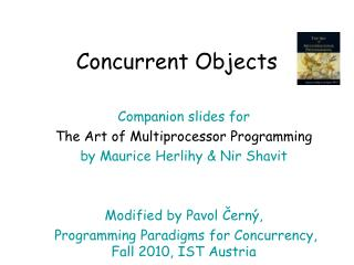 Concurrent Objects