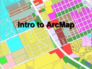 Intro to ArcMap