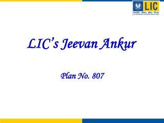 LIC s Jeevan Ankur