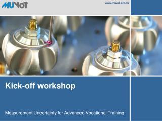 Kick-off workshop