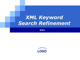 XML Keyword Search Refinement