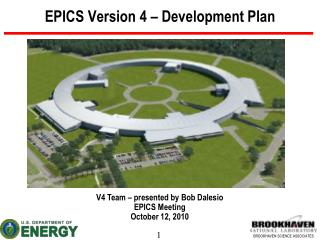 EPICS Version 4 � Development Plan