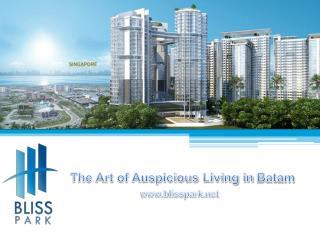 The Art of Auspicious Living in  Batam