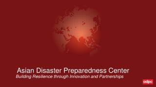 Asian Disaster Preparedness Center