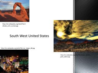 South West United States