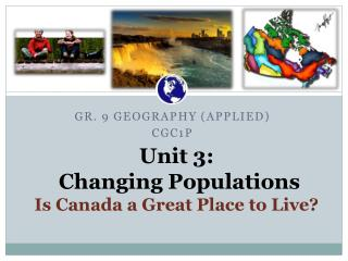 Unit 3: Changing  Populations Is Canada a Great Place to Live?