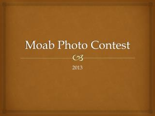 Moab Photo Contest