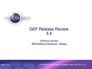 GEF Release Review 3.4