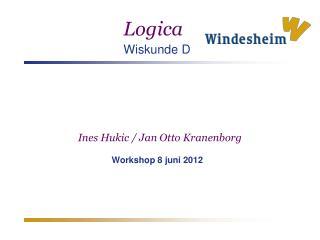 Ines Hukic / Jan Otto Kranenborg Workshop 8 juni 2012