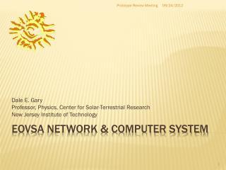 EOVSA  netWORK & Computer system