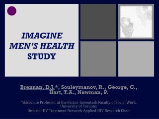 IMAGINE MEN'S HEALTH  STUDY