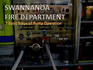 SWANNANOA  FIRE DEPARTMENT