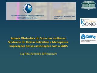 Organiza��o e Realiza��o: SBPT Apoio: SPPT
