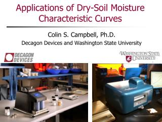 Applications of Dry-Soil Moisture Characteristic Curves