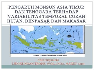 Arief suryantoro LINGKUNGAN TROPIS  (VOL.4 NO.1, MARET  2010)