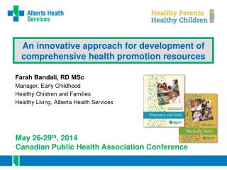 An innovative approach for development of comprehensive health promotion resources