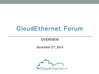 CloudEthernet Forum
