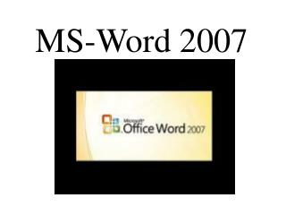 MS-Word 2007