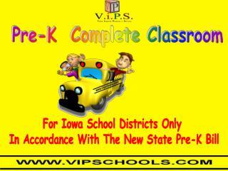 Pre-K  Complete Classroom