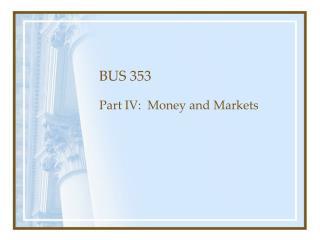 BUS 353