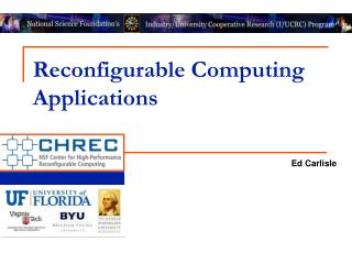 Reconfigurable Computing Applications