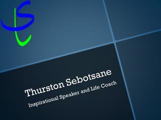 Thurston Sebotsane