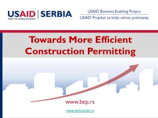 Towards More Efficient Construction Permitting
