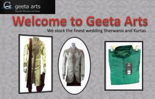 Buy Stylish and Perfectly Priced Wedding Sherwani for Men