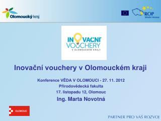 Inovační vouchery v Olomouckém kraji
