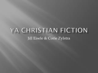 YA  christian  fiction