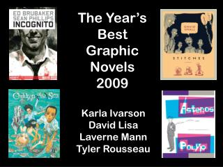 The Year's Best Graphic Novels 2009