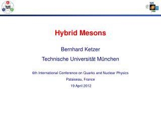 Hybrid Mesons