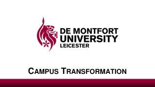 Campus Transformation