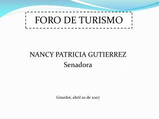FORO DE TURISMO