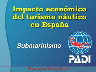 Impacto económico del turismo náutico en España