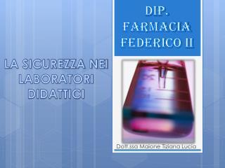 Dip . Farmacia  federico  II