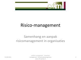 Risico-management