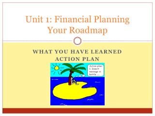 Unit 1: Financial Planning Your Roadmap